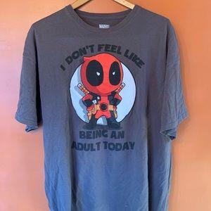 Marvel Deadpool Funny T Shirt